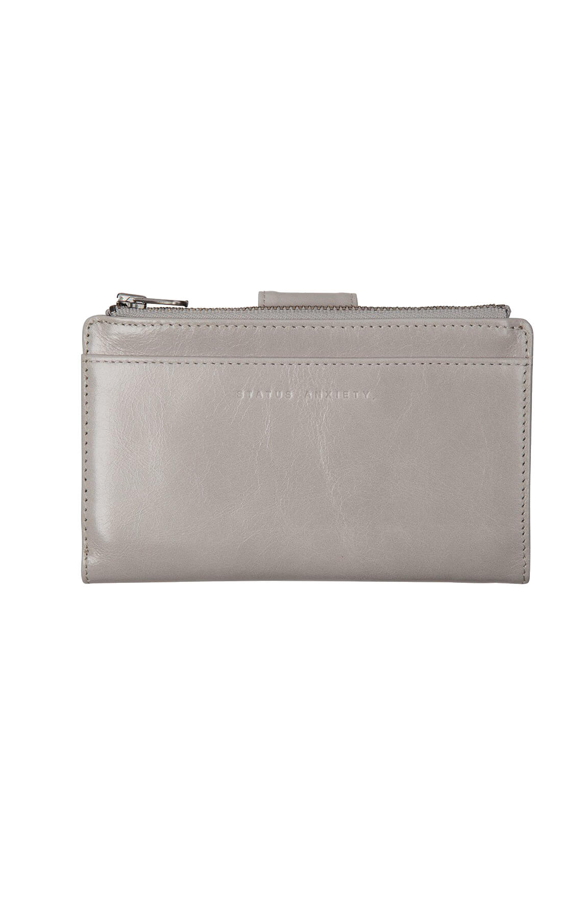 status anxiety outsider wallet grey