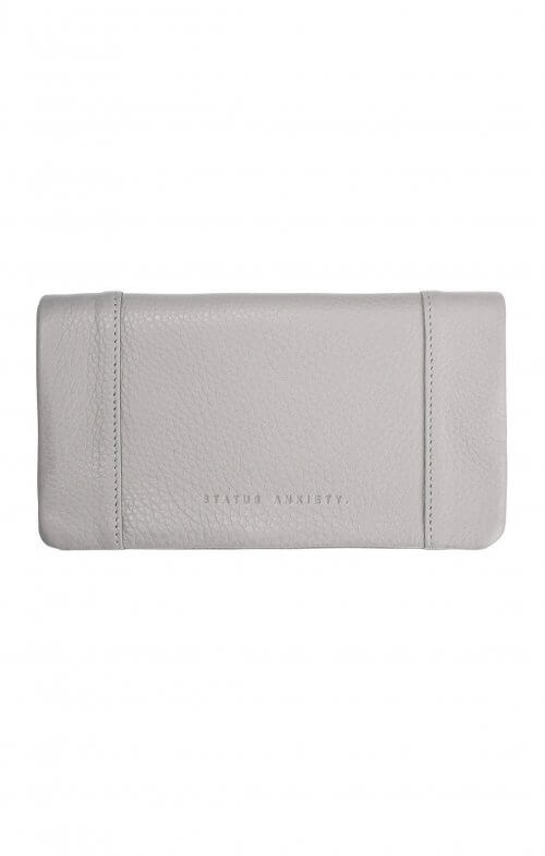 status anxiety some type of love wallet cement grey