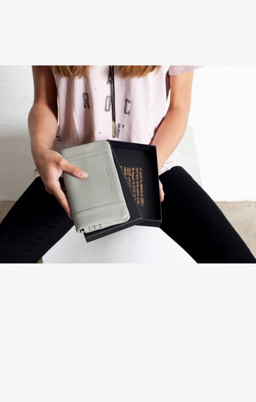 status anxiety some type of love wallet cement grey6