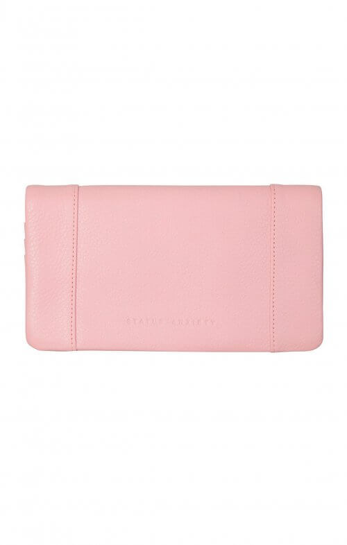 status anxiety some type of love wallet pink