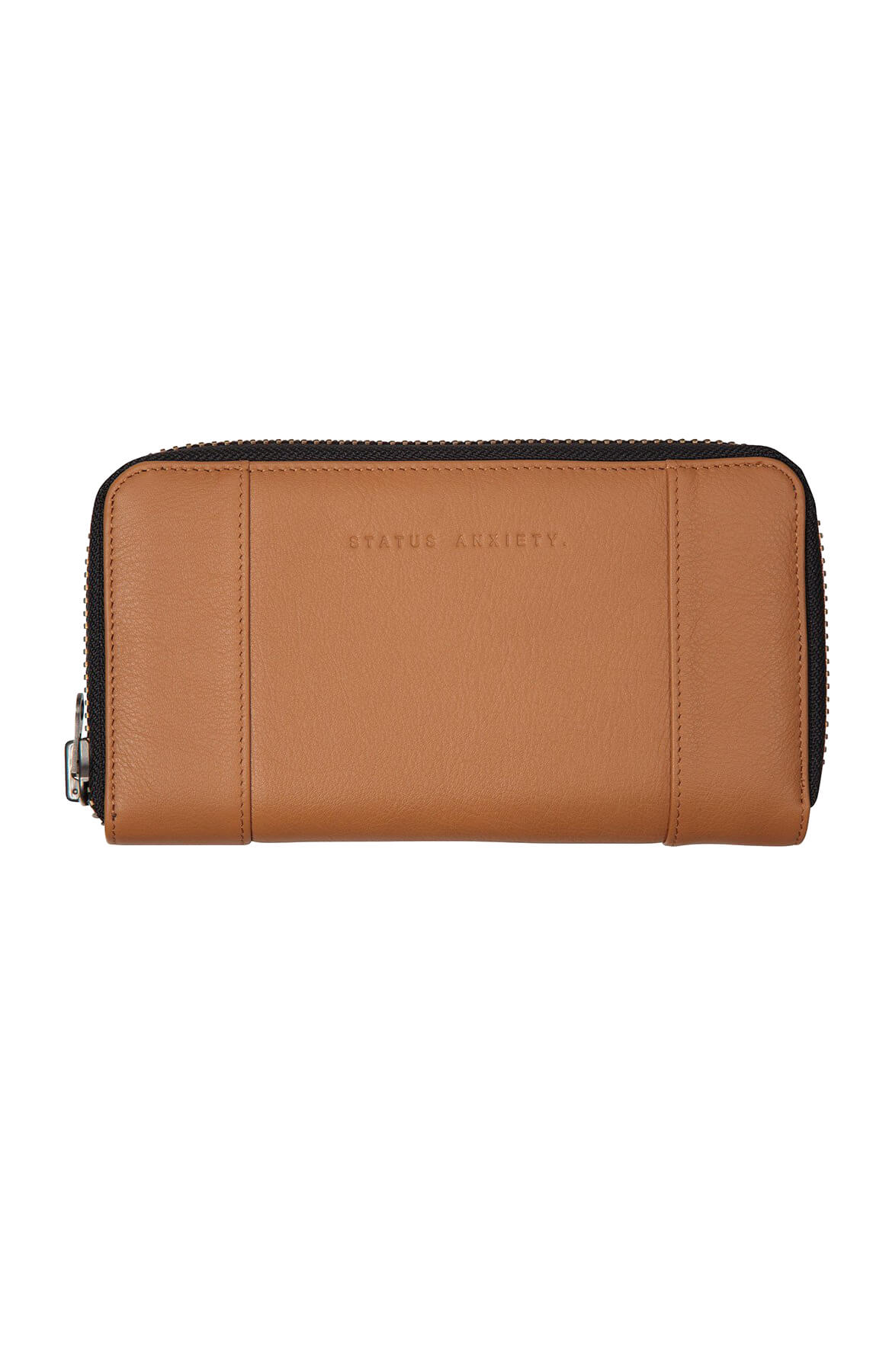 status anxiety state of flux wallet tan