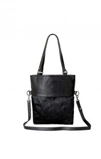 status anxiety wasteland bag black fur