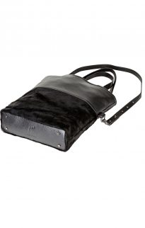 status anxiety wasteland bag black fur5