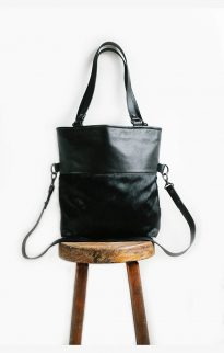 status anxiety wasteland bag black fur7
