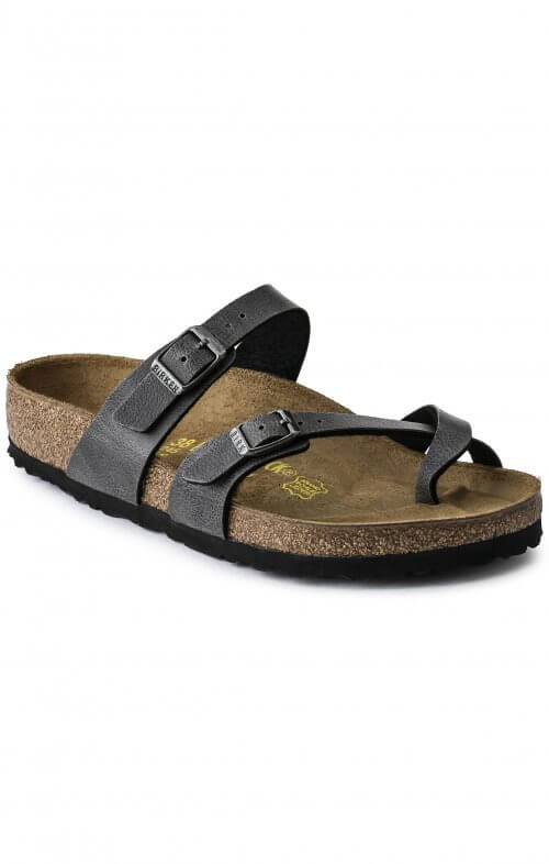 birkenstock mayari pull up anthracite