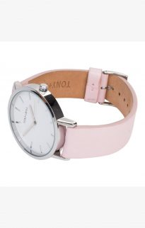 tony will silver white pink watch2