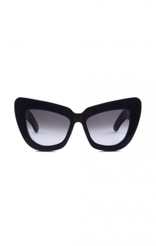 valley genius child sunglasses black gloss