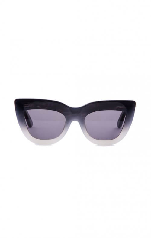 valley marmont sunglasses coal black to white fade