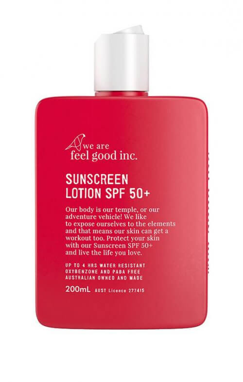 we are feel good sunscreen lotion 50+