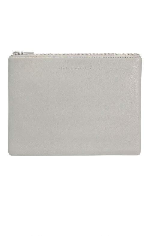 status anxiety anitheroine clutch grey