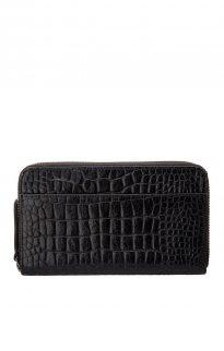 status anxiety delilah wallet black croc