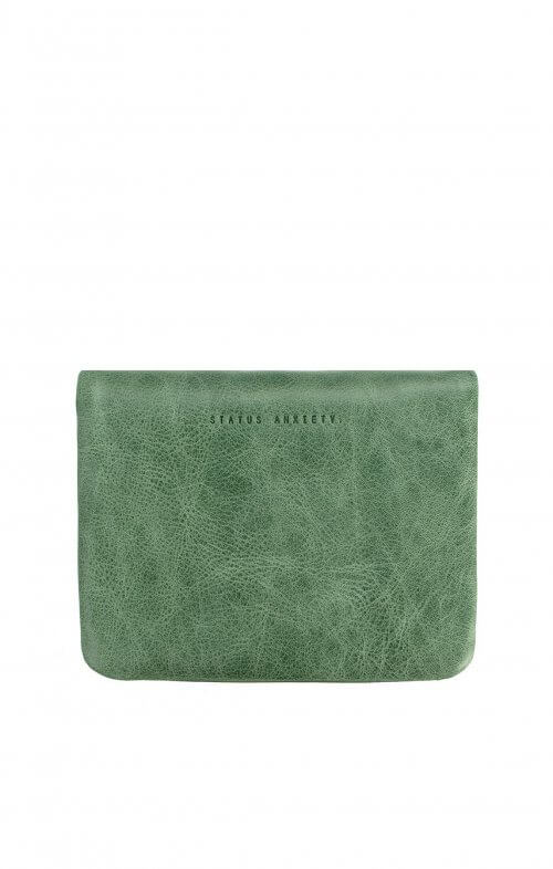 status anxiety norma wallet emerald green2