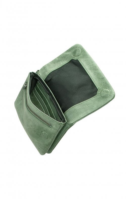 status anxiety norma wallet emerald green3