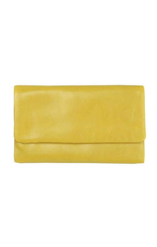 status anxiety audrey wallet yellow