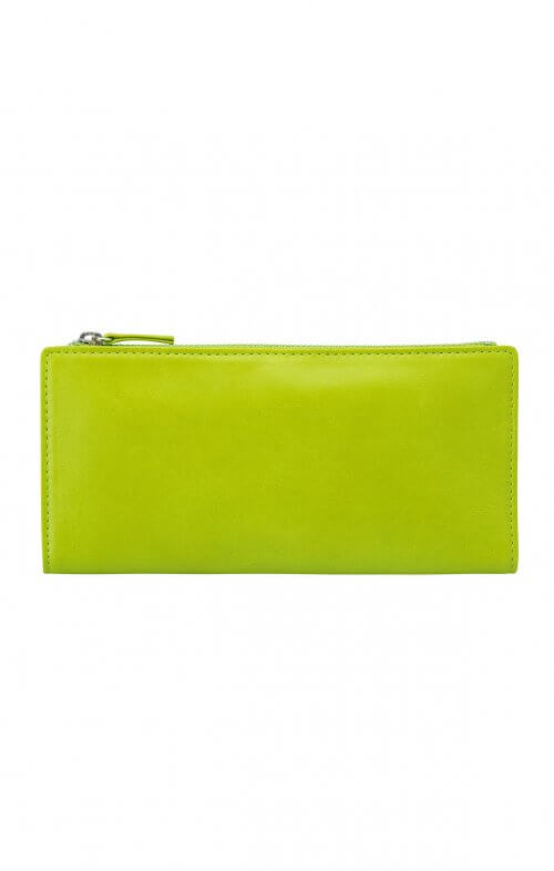status anxiety dakota wallet lime