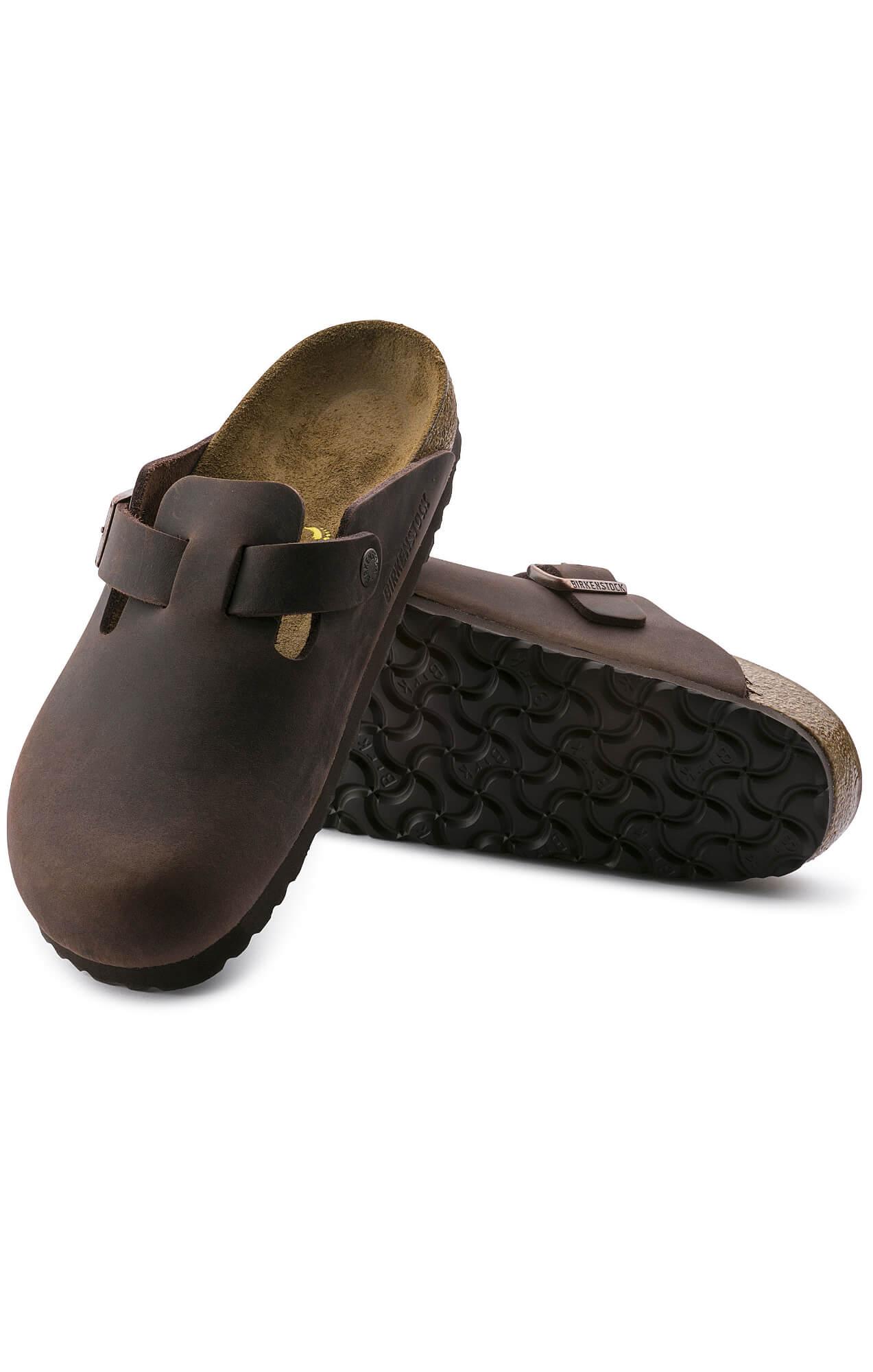 birkenstock boston oiled leather habana brown online. Black Bedroom Furniture Sets. Home Design Ideas
