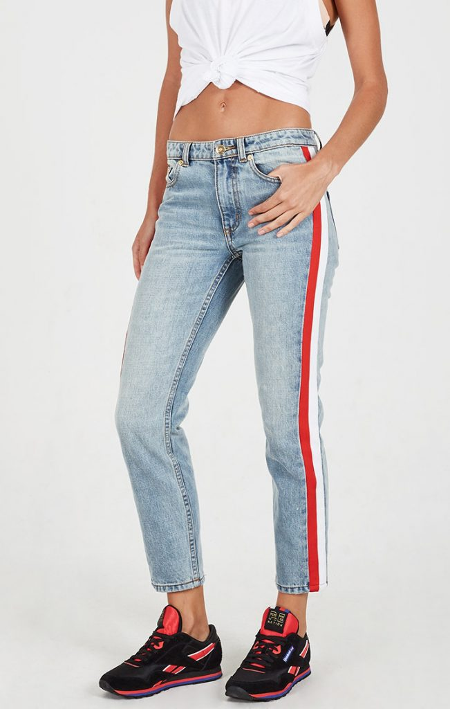 PE NATION ALLY OOP JEANS