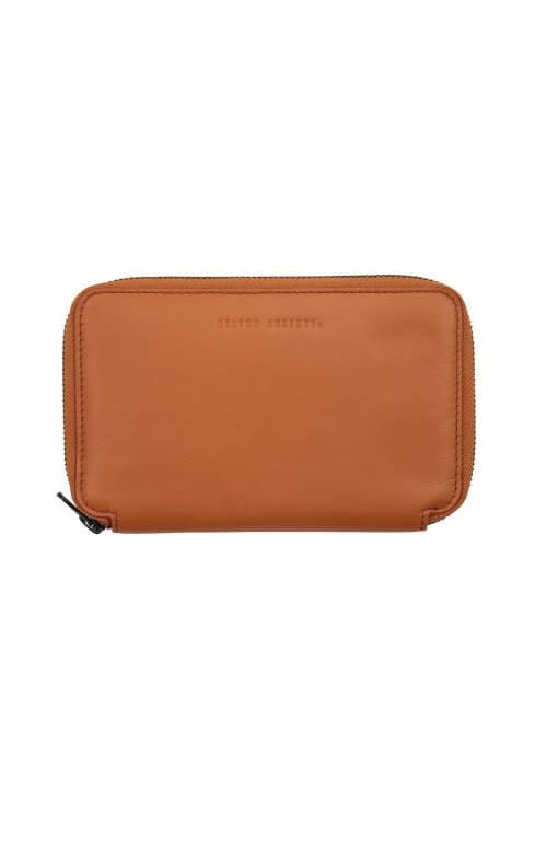 status anxiety vow travel wallet camel