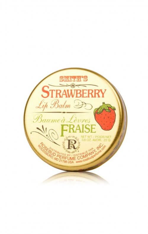 smith's rosebud strawberry lip balm