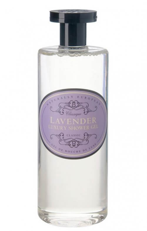 naturally european lavender shower gel
