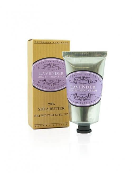 naturally european lavender shea hand cream