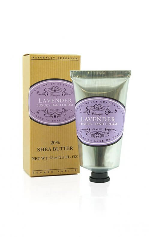 naturally european lavender shea hand cream