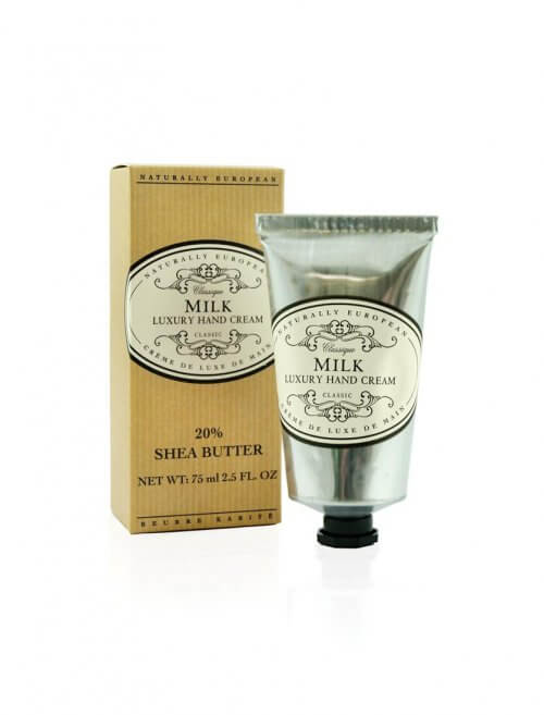 naturally european milk shea hand cream