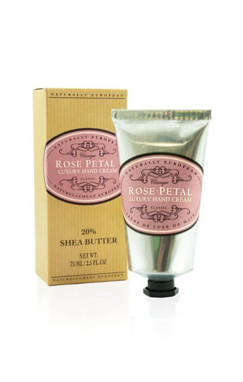 naturally european rose petal shea hand cream