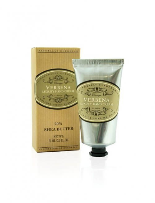 naturally european verbena shea hand cream