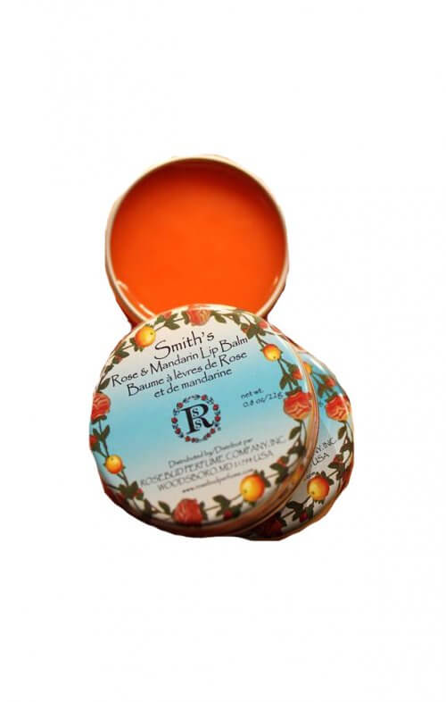 smith's rosebud mandarin rose lip balm
