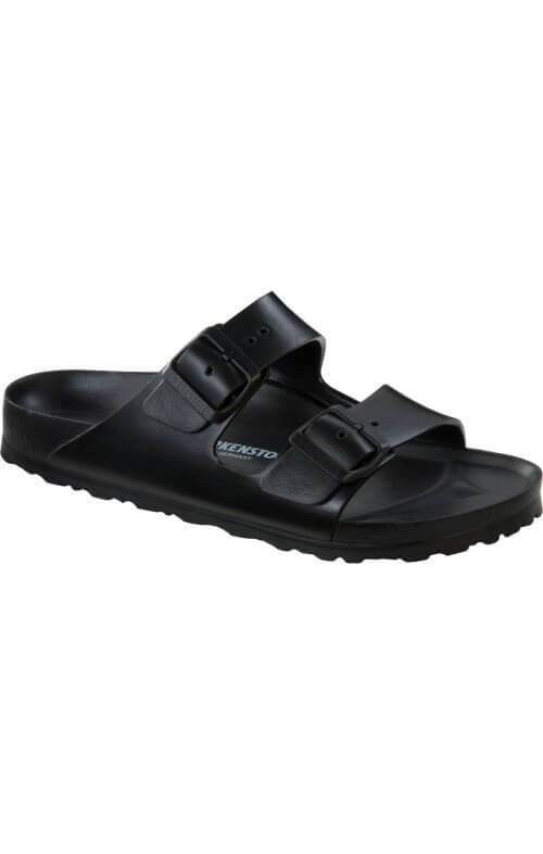 birkenstock arizona black birko foam