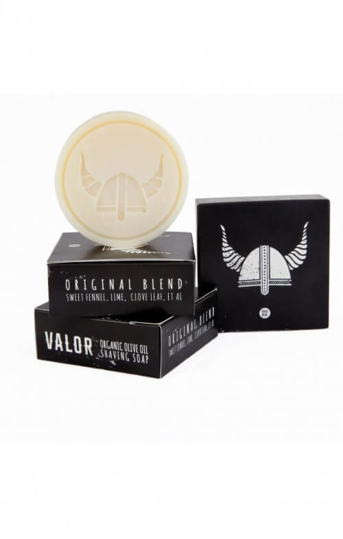 shave with valor shaving soap original refill