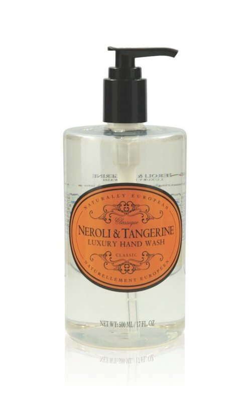 naturally european neroli tangerine hand wash