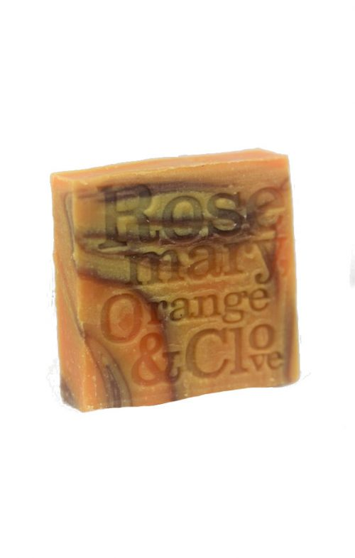 CORRYNNES SOAP ROSEMARY ORANGE CLOVE