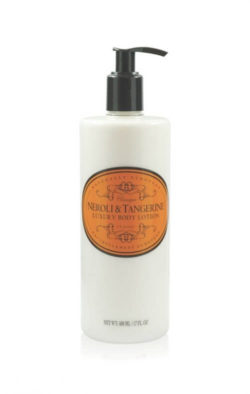 naturally european neroli tangerine body lotion