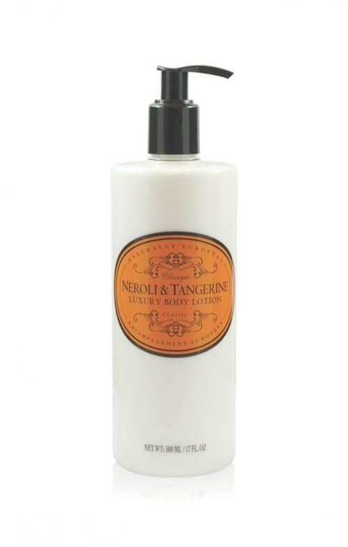 naturally european neroli tangerine body lotion
