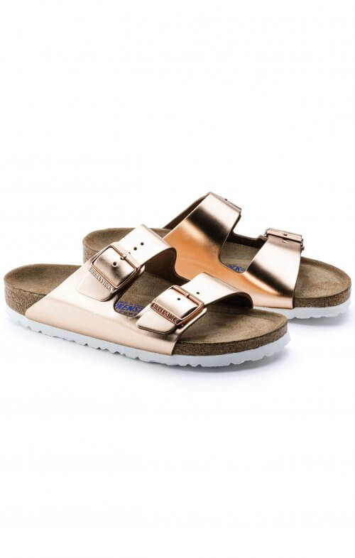 birkenstock arizona copper soft footbed5