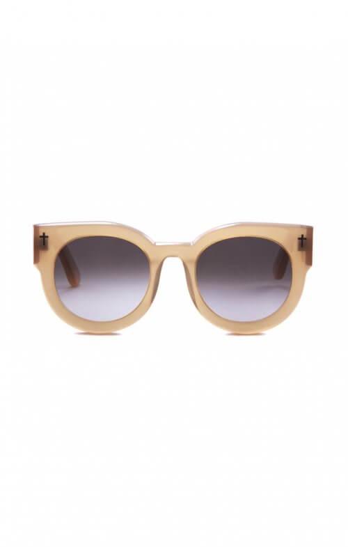 valley a dead coffin club sunglasses peach brown