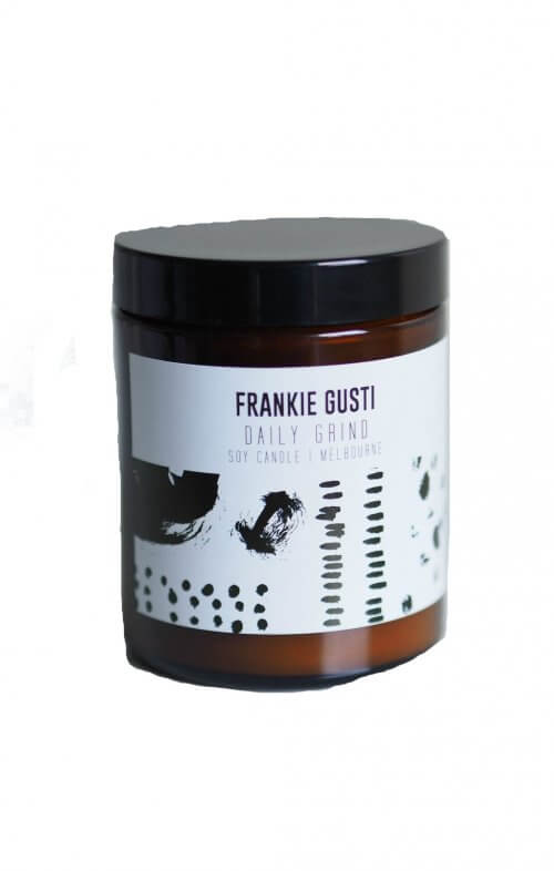 frankie gusti honeys little daily grind candle