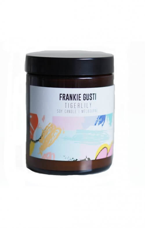 frankie gusti honeys little tigerliy candle