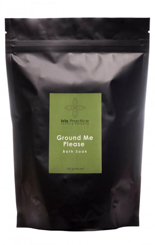 iris practice ground me please bath salts pack