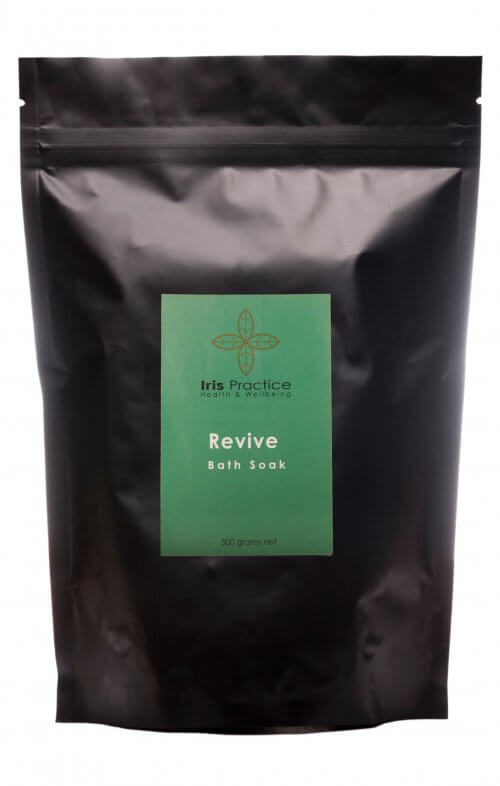 iris practice revive bath salts pack