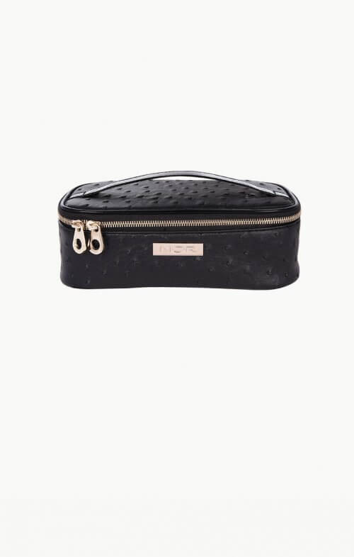 mor cosmetics sicily mini train case toiletry bag