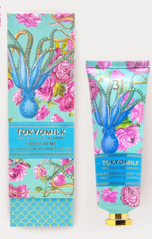 tokyo milk 20000 flowers under the sea hand cream