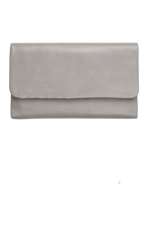 status anxiety audrey wallet light grey