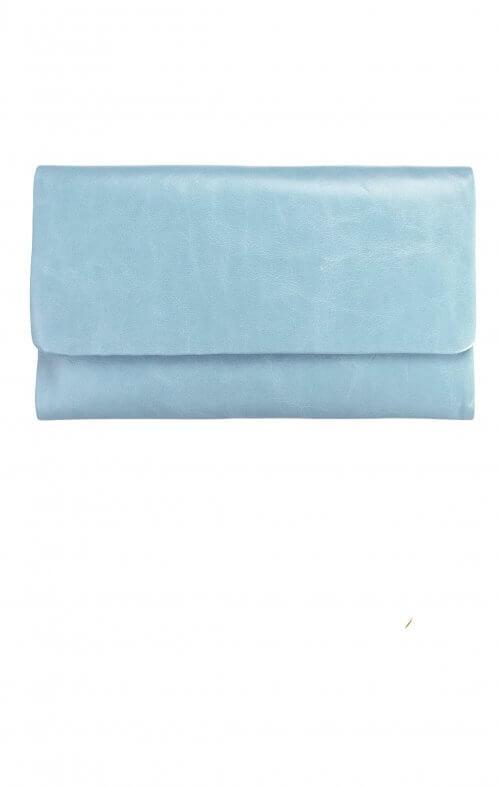 status anxiety audrey wallet sky blue