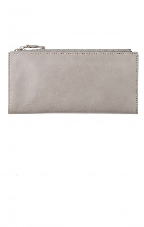 status anxiety dakota wallet light grey