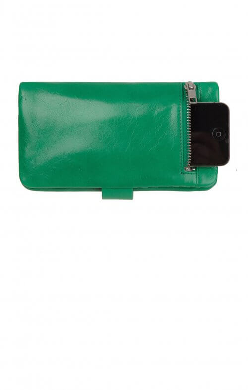status anxiety esther wallet emerald green2