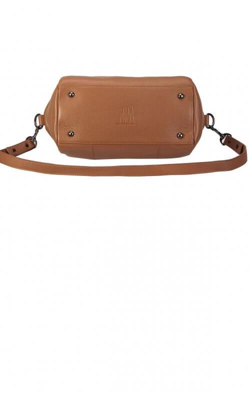 status anxiety force of being handbag tan3