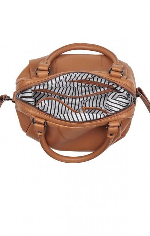 status anxiety force of being handbag tan4